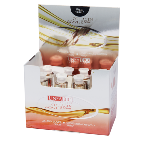 LINEA BIO AMPOULES WITH COLLAGEN AND CAVIER 8 pcs