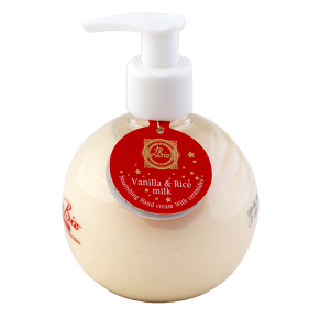 LINEA BIO HAND CREAM VANILLA AND RICE MILK 250ml