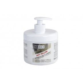 LINEA BIO HAIR MASK ANTI YELLOW 500 ML