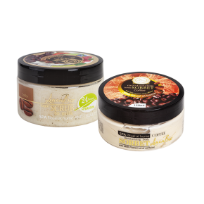 LINEA BIO LINEA BIO SPA body scrub and sorbet with milk protein and caffeine