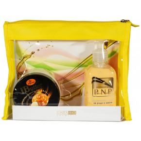 Cosmetic set Linea Bio Caramel&Macadamia