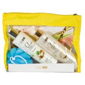 Cosmetic set Linea Bio Coconut Flavor