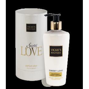 Комплект парфюм и лосион с блясък Sweet Love