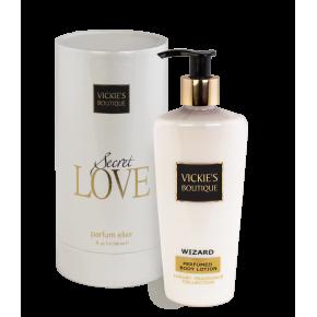 Комплект парфюм и лосион с блясък Wizard