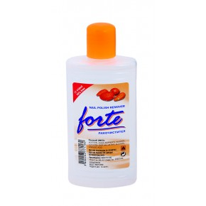 FORTE Nail polish remover with acetone and Almond fragrance 110ml