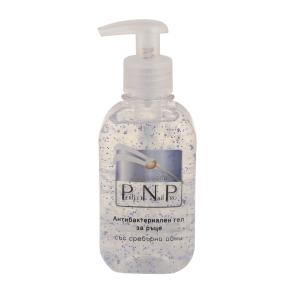 PNP ANTIBACTERIAL HAND GEL WITH SILVER IONS 250ml