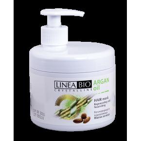 Linea Bio Crystalline Подхранваща маска за коса с Арганово масло 500мл