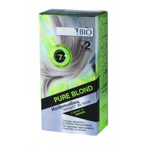 Linea Bio Изсветляващ продукт за коса с аромат на мента (за дълга коса)