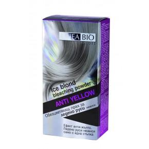 Linea Bio Обезцветяващ прах за ледено руси коси