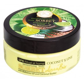 LINEA BIO BODY SORBET COCONUT AND LIME WITH BABASSU OIL 150ml